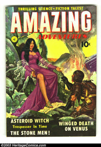 Amazing Adventures #1 (Ziff-Davis, 1950) Condition: FN. What an All-Star issue! The last story has a rare appearance of...