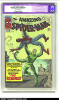 Silver Age (1956-1969):Superhero, Amazing Spider-Man #20 (Marvel, 1965) CGC Apparent VG/FN 5.0 Slight (A) Cream to off-white pages. Origin and first appearanc...