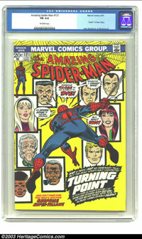 Amazing Spider-Man #121 (Marvel, 1973) CGC FN 6.0 Off-white pages. Death of Gwen Stacy. John Romita and Gil Kane artwork...