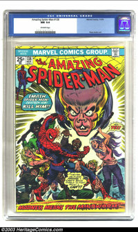 Amazing Spider-Man #138 (Marvel, 1974) CGC NM 9.4 Off-white pages. Features Spider-Man vs. the Mindworm; Ross Andru art...