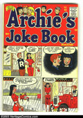 Golden Age (1938-1955):Humor, Archie Group lot (Archie, 1950). Laugh #74 Fine- and Archie's Joke Book #22 VF-. Overstreet 2003 value for group = $... (Total: 2 Comic Books Item)