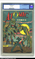 Golden Age (1938-1955):Horror, Atomic Comics #2 (Green Publishing Co., 1946) CGC VG 4.0 Cream tooff-white pages. Matt Baker art. Overstreet 2003 VG 4.0 va...