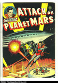 Golden Age (1938-1955):Science Fiction, Attack on Planet Mars nn (Avon, 1951) Condition: Apparent VG.Incredible artwork by some of the greats; Infantino, Fawcette,...