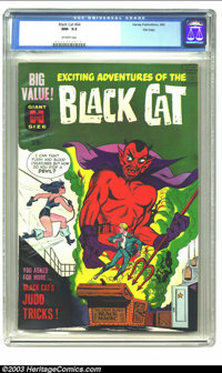Black Cat #64 File Copy (Harvey, 1963) CGC NM- 9.2 Off-white pages. Features Black Cat's judo tricks. Overstreet 2003 NM...