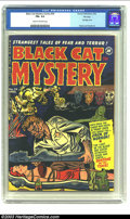 Golden Age (1938-1955):Horror, Black Cat Mystery #34 File Copy (Harvey, 1952) CGC FN+ 6.5 Cream to off-white pages. Bondage cover. Powell and Palais art. O...