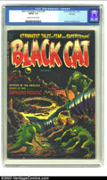 Golden Age (1938-1955):Horror, Black Cat Mystery #47 File Copy (Harvey, 1953) CGC FN/VF 7.0 Creamto off-white pages. The pair of Lee Elias and Warren Krem...