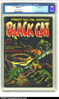 Black Cat Mystery #47 File Copy (Harvey, 1953) CGC FN/VF 7.0 Cream to off-white pages. The pair of Lee Elias and Warren...
