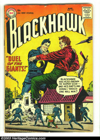Blackhawk Lot (DC, 1960s) Condition: average VG. This lot contains issues 110, 111, 120,147, 150,151,158, 183. Overstree...