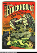 Golden Age (1938-1955):Adventure, Blackhawk Issues Group (DC, 1953). Three issues of Blackhawk, #61, #65 and #67, all in VG- 3.5 condition. Overstreet 2003 va...