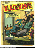 Golden Age (1938-1955):Adventure, Blackhawk Issues Group (DC, 1949-1950). Blackhawk issues #23 from 1949 and #30 from 1950, both in GD+ 2.5 condition. Overstr...