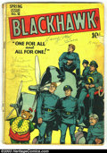 Golden Age (1938-1955):Adventure, Blackhawk Issues Group (DC, 1948). Blackhawk #18 and #20, from 1948, both in GD 2.0 condition. Overstreet 2003 value for gro...
