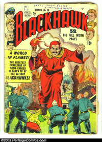Blackhawk Issues Group (DC, 1951). Two Blackhawk issues from 1951, #38 and #39, both in GD 2.0 condition. Overstreet 200...