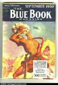 Blue Book Pulp lot 2 Burroughs issues (McCall Company, 1930) Condition: VG/FN. July and September of 1930, Vol. 51 #3 an...