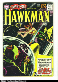 The Brave and the Bold #44 Hawkman (DC, 1962) Condition: VG. Classic Greytone cover. Overstreet 2003 VG 4.0 value = $54...