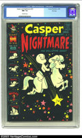 Silver Age (1956-1969):Cartoon Character, Casper and Nightmare #23 File Copy (Harvey, 1969) CGC NM- 9.2 Off-white pages. Features Casper, Nightmare, Spooky, Wendy and...
