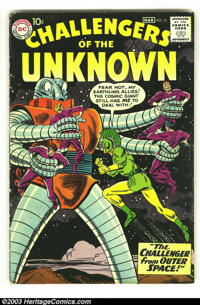 Challengers of the Unknown LOT (DC, 1958) Condition: average VG. Four early issues 12, 14, 16, 17. Overstreet 2003 value...