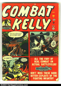 Combat Kelly #4, 6, 8, and 9 (Atlas, 1952) Condition: GD/VG. Russ Heath art in #4. Overstreet value for group = $88...