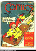 Golden Age (1938-1955):Humor, Comics, The #6 (Dell, 1938) Condition: GD. Wash Tubbs, Ted Strong, Bill and Davey, others. Overstreet 2003 GD 2.0 value = $6...
