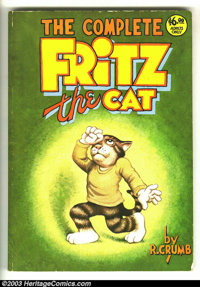 Complete Fritz The Cat nn (Belier Press, 1978) Condition = VG. This great trade paperback features 128 pages of Robert C...