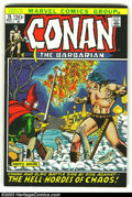 Bronze Age (1970-1979):Miscellaneous, Conan The Barbarian Lot of #15, 17 and 18(Marvel, 1973) Condition: average VF+. Here are three really high-grade beauties. O...