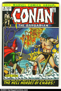 Conan The Barbarian Lot of #15, 17 and 18(Marvel, 1973) Condition: average VF+. Here are three really high-grade beautie...