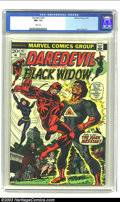 Bronze Age (1970-1979):Superhero, Daredevil #97 (Marvel, 1973) CGC NM- 9.2 White pages. Classic issue with Gene Colan art and the lovely Black Widow. Overstre...