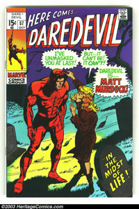 Daredevil group lot (Marvel, 1970s) Condition: average VF/NM. Issues 57, 65, 67, 69, 71, 74-76, 78, 79. Here is a really...