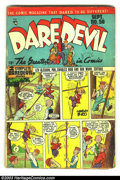 Golden Age (1938-1955):Superhero, Daredevil Comics #50, 73, and 128 (Lev Gleason, 1940) Condition: VG. Three issues, #50, 73, and 128. The Little Wise Guys, C... (Total: 3 Comic Books Item)