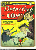 Golden Age (1938-1955):Superhero, Detective Comics #82 (DC, 1943) Condition: VG. Robinson and Sprang art. Overstreet 2003 VG 4.0 value = $182. ...