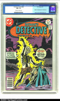 Bronze Age (1970-1979):Superhero, Detective Comics #469 (DC, 1977) CGC NM+ 9.6 Off-white to white pages. CGC has only graded one copy higher than this one. Cl...