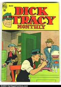 Dick Tracy Monthly #3 (Dell, 1948) Condition: VG+. Overstreet 2003 VG 4.0 value = $48