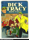 Golden Age (1938-1955):Adventure, Dick Tracy Monthly Group (Dell, 1949) Condition: average VG+. This lot consists of issues #13 and 84. Bondage cover on #13. ... (Total: 2 Comic Books Item)