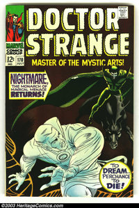 Doctor Strange LOT OF #170 and 183 (Marvel, 1968) Condition: VF/NM. Two high-grade beauties from the Silver Age of Marve...