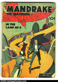 Feature Book #52 Mandrake the Magician (Better Publications, 1947) Condition: GD. Overstreet 2003 GD 2.0 value = $29