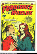 Golden Age (1938-1955):Horror, Forbidden Worlds Group (ACG, 1953). This group of three includesissues #21 (FN-), #24 (VG+), and #82 (VG/FN), the first two...
