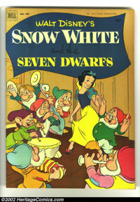 Four Color #382 Snow White and the Seven Dwarfs (Dell, 1952) Condition: VF. Classic Walt Disney. Overstreet 2003 VF 8.0...