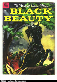 Four Color #440 Black Beauty (Dell, 1952) Condition: VF. Overstreet 2003 VF 8.0 value = $27. From the collection of Bobb...