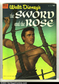 Golden Age (1938-1955):Adventure, Four Color #505 The Sword and the Rose (Movie) (Dell, 1953) Condition: VF/NM. Fantastic photo cover. Overstreet 2003 VF/NM 9...