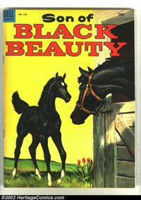 Four Color #510 Son of Black Beauty (Dell, 1953) Condition: VF. Overstreet 2003 VF 8.0 value = $26. From the collection...