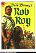 Four Color #544 Rob Roy (Movie) (Dell, 1954) Condition: VF/NM. Classic Disney photo cover. Beautiful Russ Manning interi...