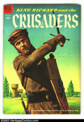 Four Color #588 King Richard and the Crusaders (Movie) (Dell, 1954) Condition: VF. Cool photo cover and great interior a...