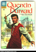 Golden Age (1938-1955):Adventure, Four Color #672 Quentin Durward (Movie) (Dell, 1955) Condition: VF/NM. Great photo cover in unbelievable condition. Overstre...
