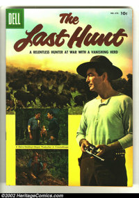 Four Color #678 The Last Hunt (Movie) (Dell, 1956) Condition: VF/NM. Photo cover Western. Overstreet 2003 VF/NM 9.0 valu...
