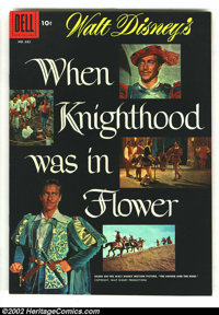 Four Color #682 When Knighthood was in Flower (Movie) (Dell, 1953) Condition: VF/NM. Photo cover. Overstreet 2003 VF/NM...