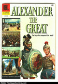 Golden Age (1938-1955):Adventure, Four Color #688 Alexander the Great (Movie) (Dell, 1956) Condition: VF/NM. Richard Burton photo cover. John Buscema interior...