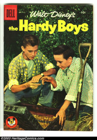 Four Color #760 The Hardy Boys (#1) (TV) (Dell, 1957) Condition: VF/NM. Photo cover in fantastic condition. Overstreet 2...