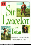 Silver Age (1956-1969):Adventure, Four Color #775 Sir Lancelot and Brian (TV) (Dell, 1957) Condition: FR/GD. Spine is totally split, otherwise quite nice. Joh...