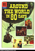 Silver Age (1956-1969):Miscellaneous, Four Color #784 Around the World in 80 Days (Movie) (Dell, 1956) Condition: VF+. Photo cover. Overstreet 2003 VF 8.0 value =...