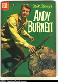 Silver Age (1956-1969):Western, Four Color #865 Andy Burnett (TV) (Disney) (Dell, 1957) Condition: VF/NM. Photo cover in fantastic condition. Overstreet 200...
