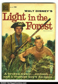 Silver Age (1956-1969):Adventure, Four Color #891 Light in the Forest (Movie) (Dell, 1958) Condition: FN+. Fess Parker photo cover Western. This book is tan, ...